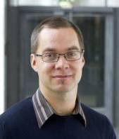 Bildet viser Gustav Vaaje-Kolstad, Post-doc / forsker