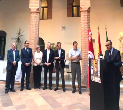 Inaugurada la I Feria del Libro Hispanoárabe Badajoz 8