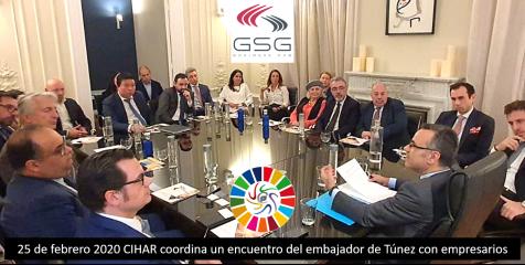 Cabecera encuentro intercultural y económico Túnez 2