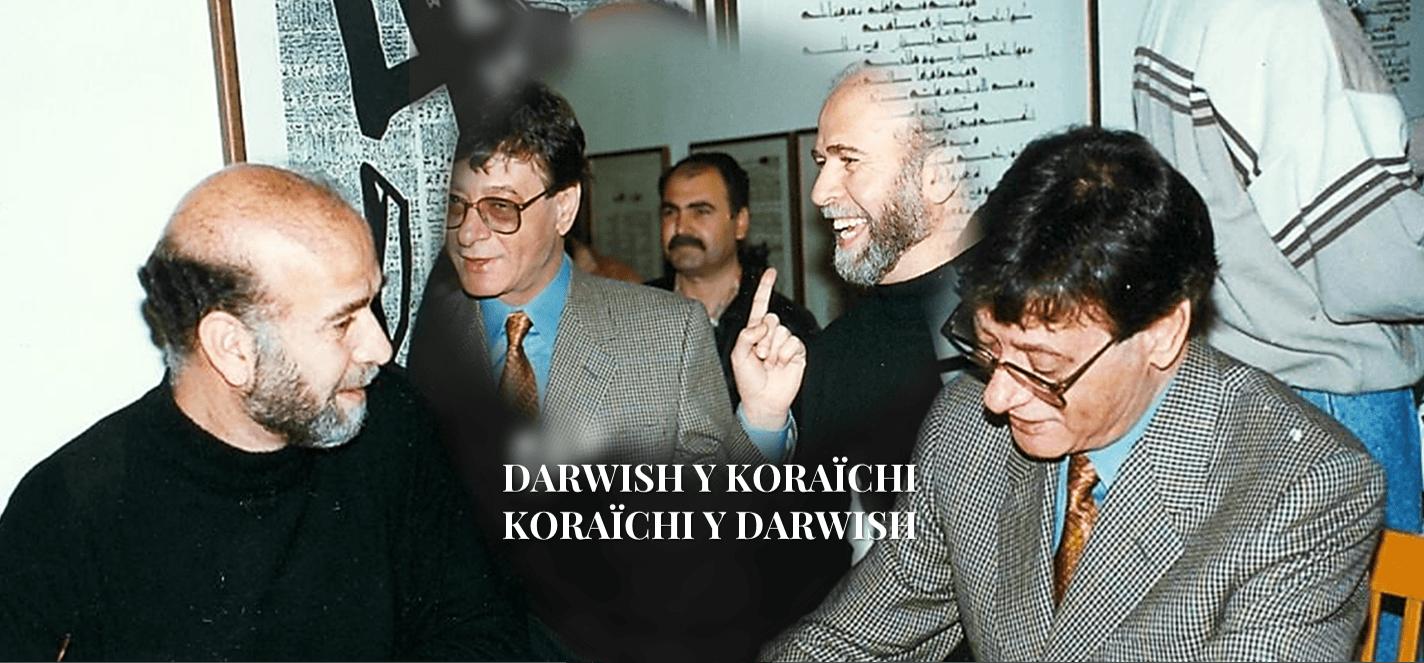 Mahmud Darwish y Rachid Koraïchi, la amistad de dos intelectuales árabes