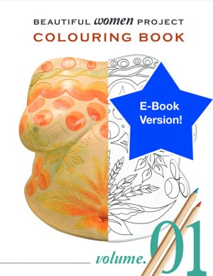 Beautiful Women Project Colouring Book – Volume 1 (E-book)