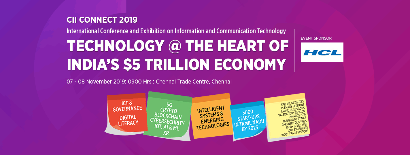 Technology @ the Heart of India's $5 Trillion Economy