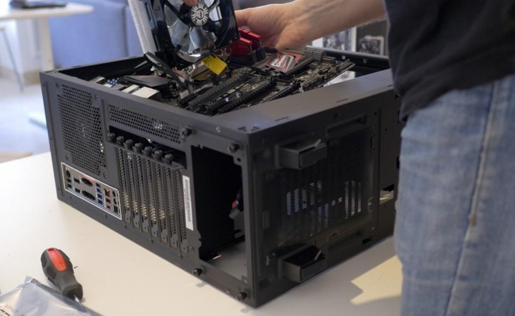 montaje a medida ordenador