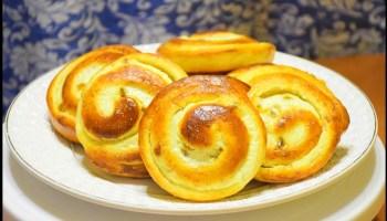 Завитки із домашнього сиру: покроковий рецепт