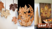 Що можна зробити з кленового листя: майстер-класи