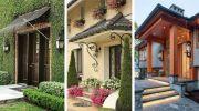 Гарний вхід в приватний будинок: 16 дизайнів на будь-який смак