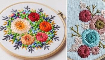 Неймовірна краса різних технік вишивання