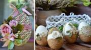 Декоруємо великодні яйця по-особливому! Майстер-клас