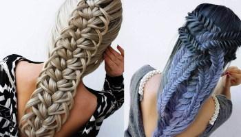 17 прекрасних прикладів, як можна заплести волосся, щоб носити на голові твір мистецтва