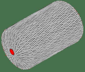Carbon fiber winding of pressure vessels
