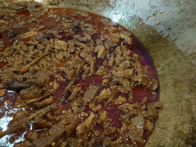 Gulai Kawah Daging Cincang - D'kayangan Grill BBQ Steamboat