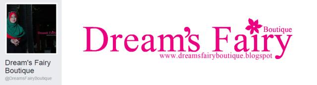 Dreams Fairy adalah inspirasi Mrs Yanie dalam dunia Usahawan