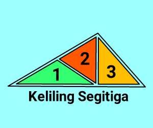 cara+menghitung+keliling+segitiga