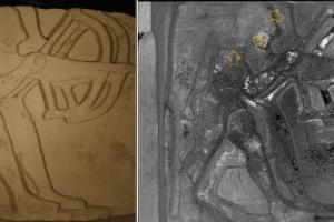 Paestum, la scoperta: emergono i colori del tempio di Hera sul fiume Sele