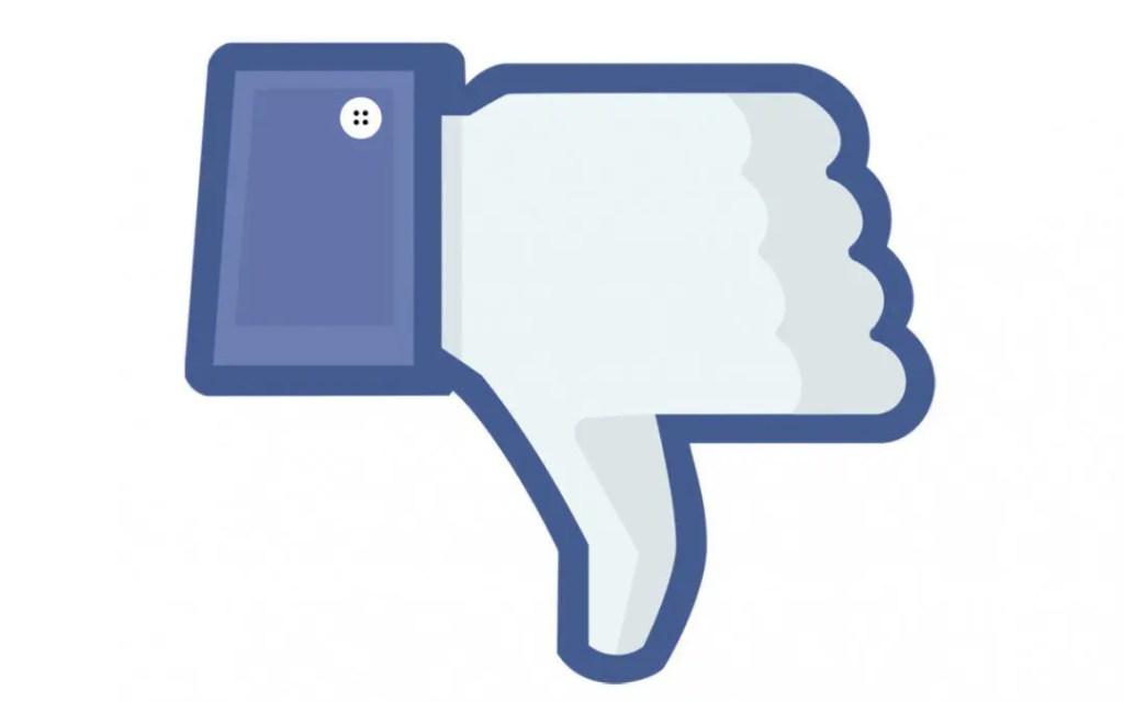 dislike 1080x675 - Bloccati gli account Facebook e Instagram di Casapound