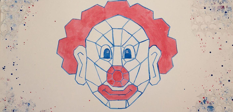Le clown aux acrobates
