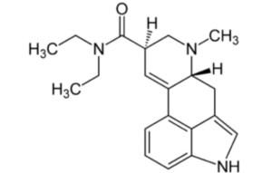LSD'NİN kimyasal gösterimi