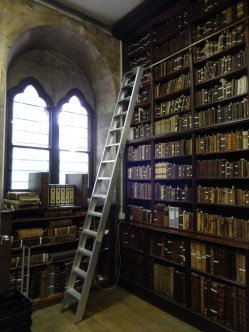 Rickety ladders...