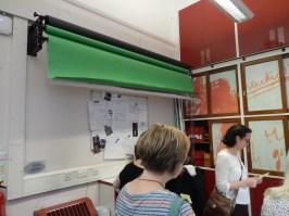 Studio 12 - roll-down green screen