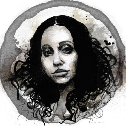 Self portrait - Molly Crabapple