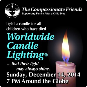2014 candle lighting ceremony logo