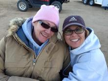 Cillas and Kelly at Mojave Desert Jan 2015