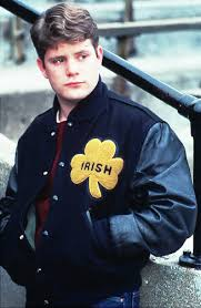Rudy with letterman jacket