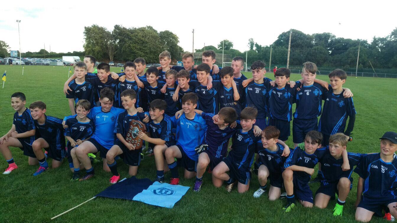 U12 Boys Win Meath Summer League