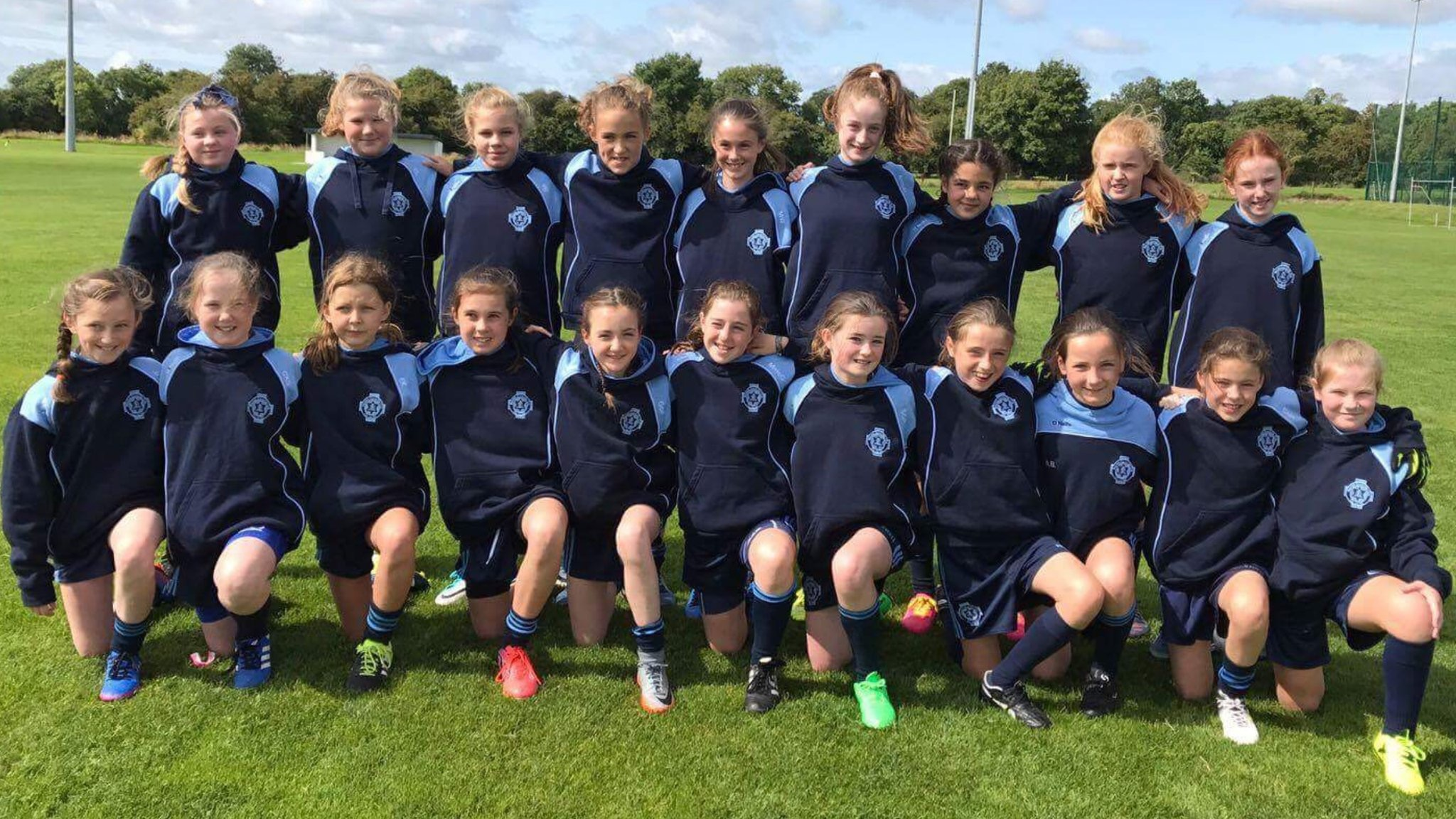 St Colmcilles u11 Girls away to Kilbride