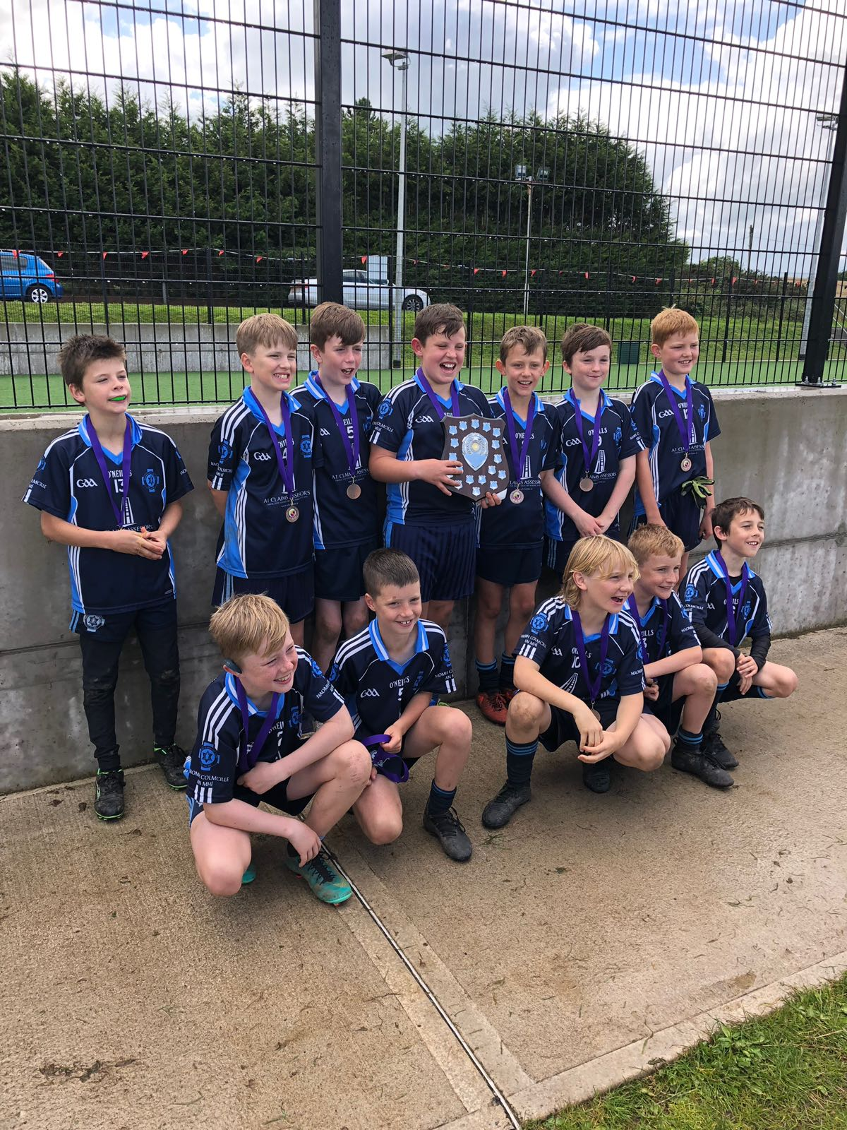 Our U11 Boys win their first silverware….