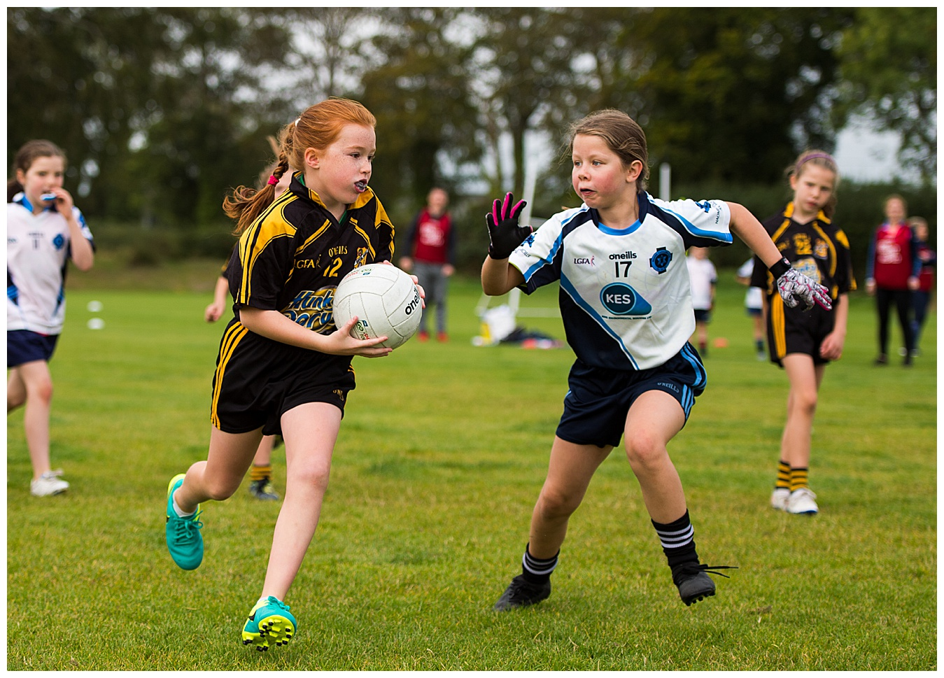 St Colmcilles U9 Girls Welcome Royal Gaels to Piltown
