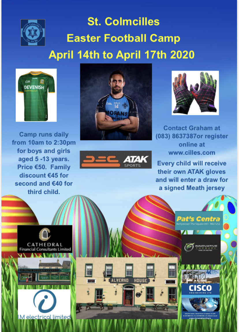 Easter Football Camp – CANCELLED