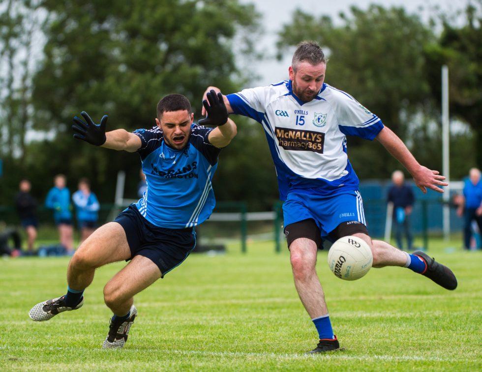 Colmcilles Vs Kilmainhamwood – Con Gordon blocks a shot