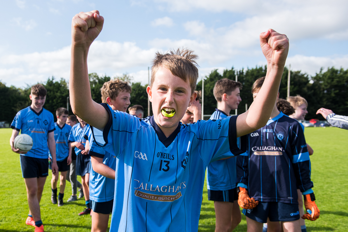 Cilles U13 Boys Win League Final – Presentation By Meath Royalty