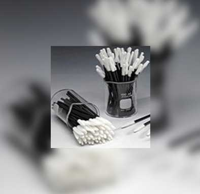 LINT-FREE-APPLICATORS-WHITE-TIP-BLACK-OR-CRYSTAL-HANDLE_Cils France Eyelash Extensions