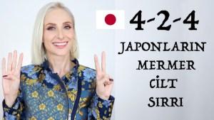 JAPON TEKNİĞİ İLE KUSURSUZ BİR CİLT