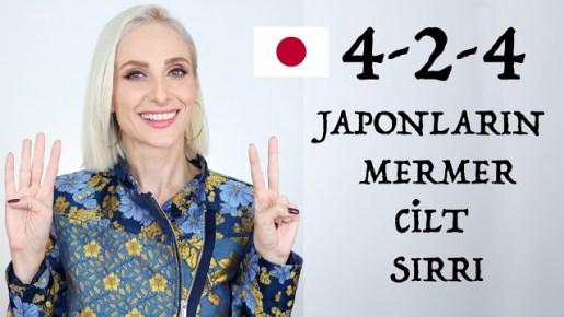 Japon tekniği ile kusursuz bir cilt