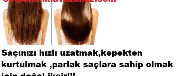 Saç için adeta mucizevi doğal iksir