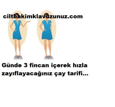 GÜNDE 3 FİNCAN İÇEREK ZAYIFLAYIN
