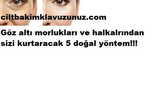 GÖZ ALTI HALKA VE MORLUKLARINDAN KURTARAN 5 TARİF