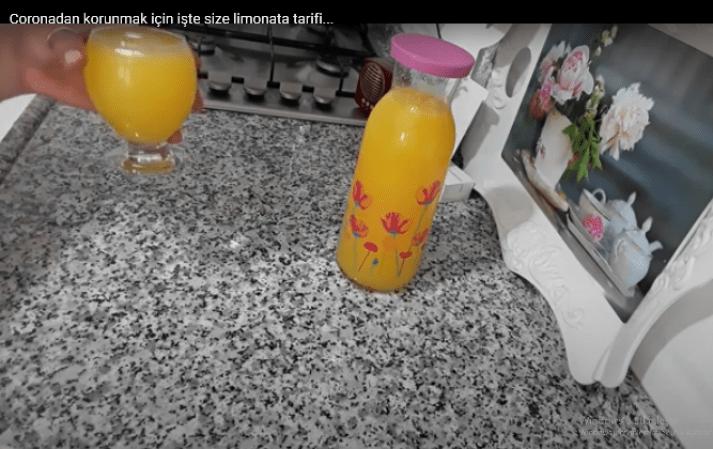 Coronadan korunmak için limonata tarifi