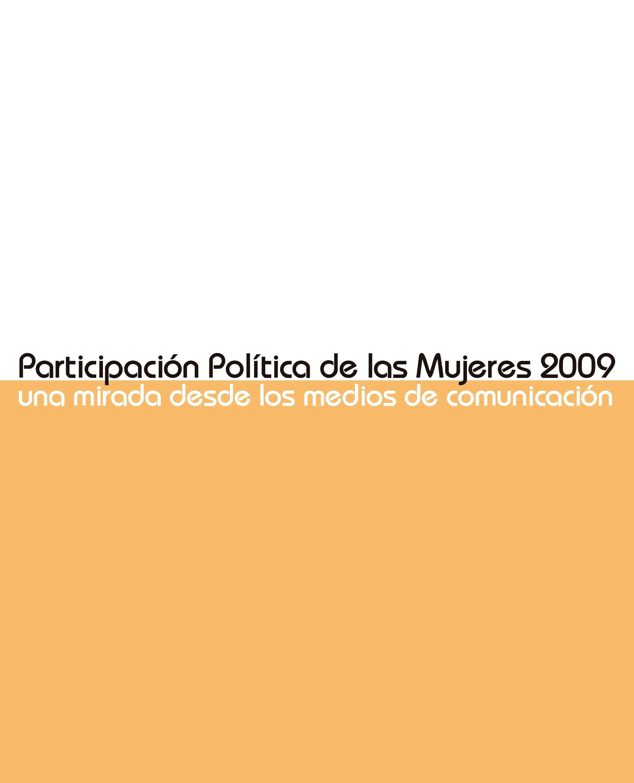 Participación-Política-de-las-Mujeres-2009-una-mirada-desde-los-medios-de-comunicación