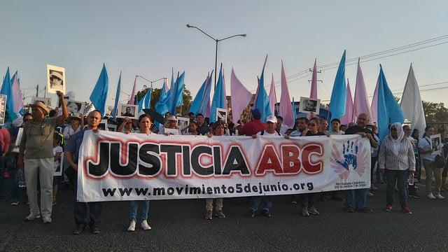 Marcha Justicia ABC, séptimo aniversario