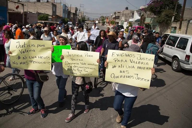 Justicia para Valeria, niña asesinada en Nezahualcóyotl