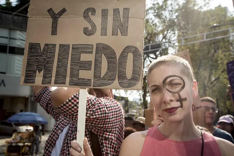 Marcha contra secuestros y feminicidio en CDMX