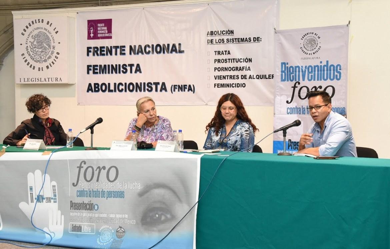 Diputadas se comprometen a expedir ley para proteger a víctimas de trata