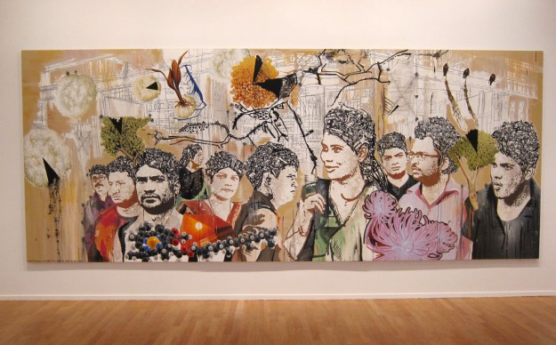 Jitish Kallat à la galerie Daniel templon