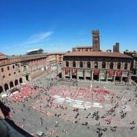 Bologna, Piazza Maggiore. 1° giugno 2013. I° Curvy Pride!!!