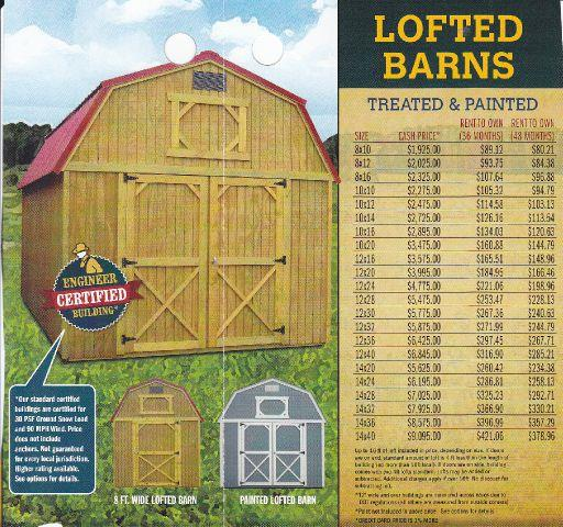 Shed Prices Online