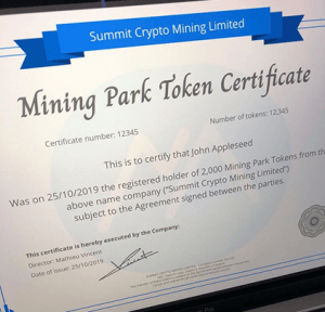 Invest In Your Future with Summit Mining 104